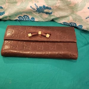 Brown Gucci Wallet AUTHENTIC